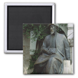 Statue of Moses Maimonides Magnet
