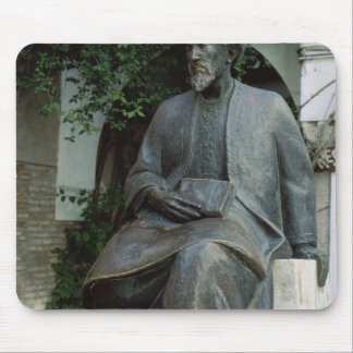 Statue of Moses Maimonides Mouse Pad