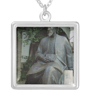 Statue of Moses Maimonides Necklace