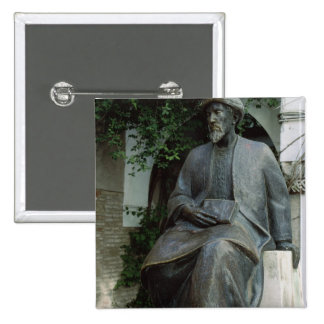 Statue of Moses Maimonides Pinback Button