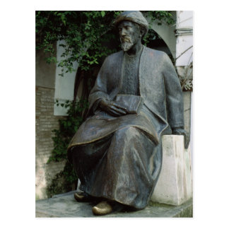 Statue of Moses Maimonides Postcard