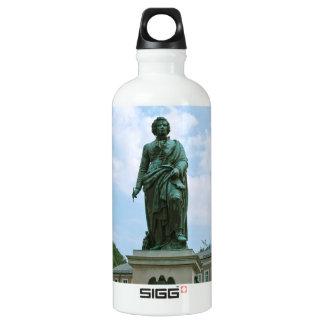 Statue of Mozart in Salzburg Aluminum Water Bottle