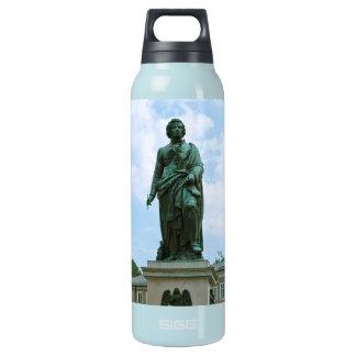 Statue of Mozart in Salzburg Insulated Water Bottle