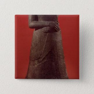 Statue of Napirasu, wife of Elamite King Button