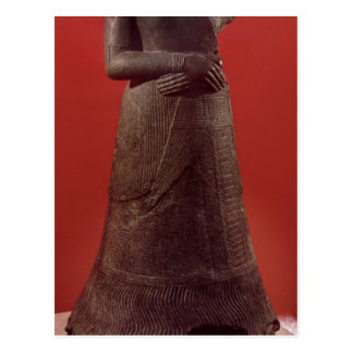 Statue of Napirasu, wife of Elamite King Postcard