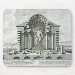 Statue of Olympian Zeus, made by Phidias in gold a Mouse Pad