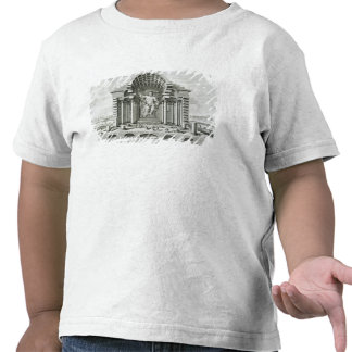 Statue of Olympian Zeus, made by Phidias in gold a Tee Shirts