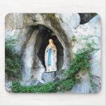 Statue of Our Lady of Lourdes, Lourdes, France Mouse Pad