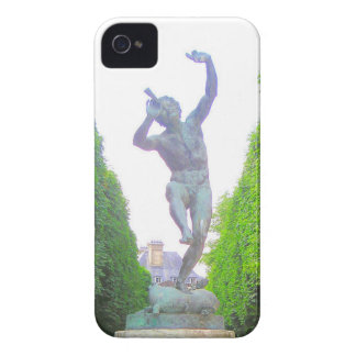 Statue of Pan, Luxembourg Garden, Paris France Case-Mate iPhone 4 Case