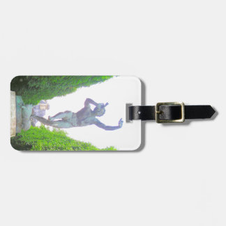 Statue of Pan, Luxembourg Garden, Paris France Luggage Tag