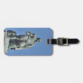 Statue of Peter Paul Rubens in Antwerp Luggage Tag