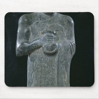 Statue of Prince Gudea, c.2150 BC Mouse Pad