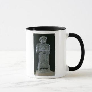 Statue of Prince Gudea, c.2150 BC Mug