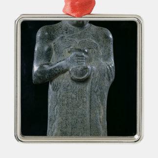 Statue of Prince Gudea, c.2150 BC Christmas Ornaments