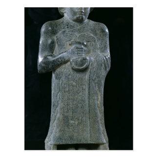 Statue of Prince Gudea, c.2150 BC Post Cards