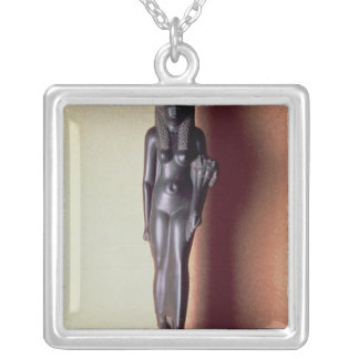 Statue of Queen Arsinoe II Silver Plated Necklace
