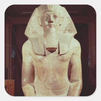 Statue of Queen Makare Hatshepsut Square Sticker