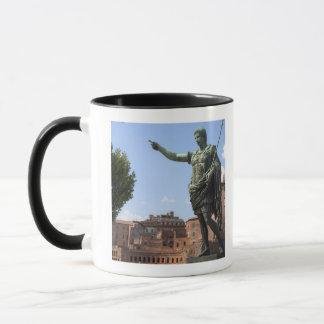Statue of Roman emperor near the Roman Forum Mug