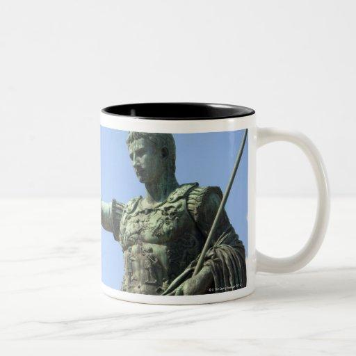 Statue of Roman emperor near the Roman Forum Coffee Mug