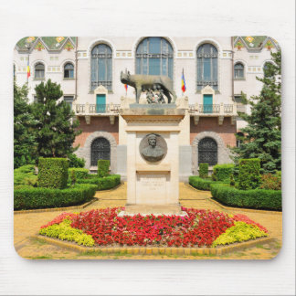 Statue of Romulus and Remus in Mures, Romania Mouse Pad