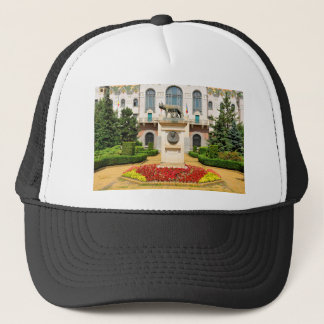 Statue of Romulus and Remus in Mures, Romania Trucker Hat