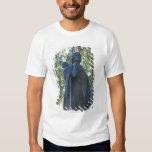 'Statue of Sacagawea and her son, guide on the Tee Shirt