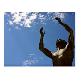 Statue of St. John the Baptist Postcard