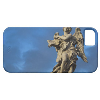 statue of the Angel with superscription on Sant iPhone 5 Cases