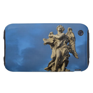 statue of the Angel with superscription on Sant iPhone 3 Tough Cases