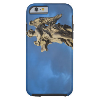 statue of the Angel with superscription on Sant Tough iPhone 6 Case