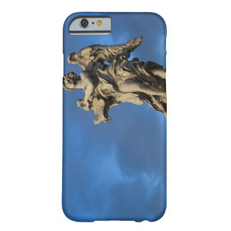 statue of the Angel with superscription on Sant iPhone 6 Case