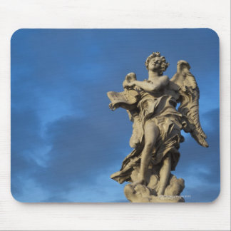 statue of the Angel with superscription on Sant Mouse Pad