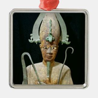 Statue of the Cult of Osiris Metal Ornament