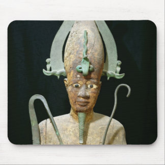 Statue of the Cult of Osiris Mousepads