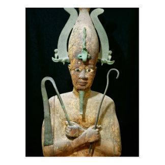 Statue of the Cult of Osiris Postcard