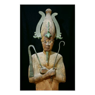 Statue of the Cult of Osiris Print