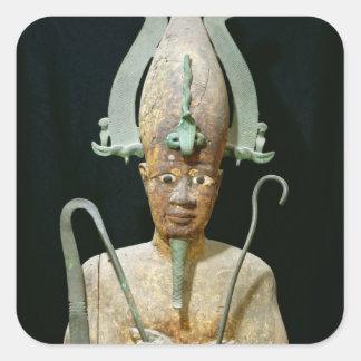 Statue of the Cult of Osiris Sticker