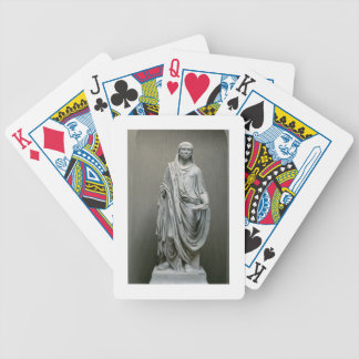 Statue of the Emperor Maxentius (306-312 AD) as Po Bicycle Playing Cards