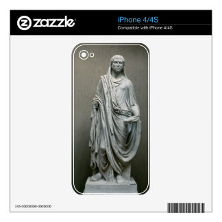 Statue of the Emperor Maxentius (306-312 AD) as Po Skins For iPhone 4