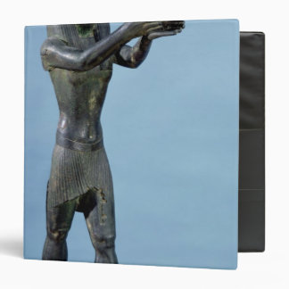 Statue of the God Horus Making a Drink Binders