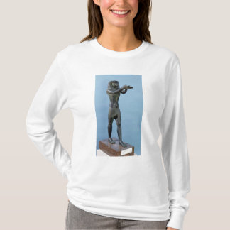 Statue of the God Horus Making a Drink T-Shirt