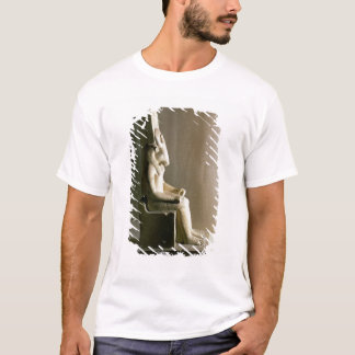 Statue of the god Montu with the head of a bull, f T-Shirt