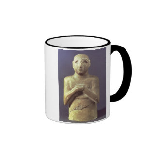 Statue of the God Utu, Mesopotamian, c.2400 BC (li Coffee Mug