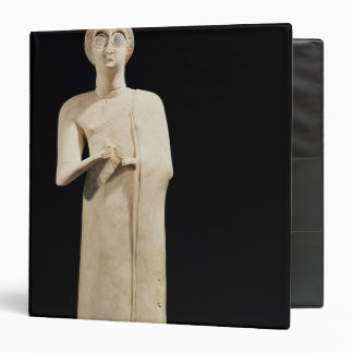 Statue of the Great Goddess, from Tell Asmar 3 Ring Binders