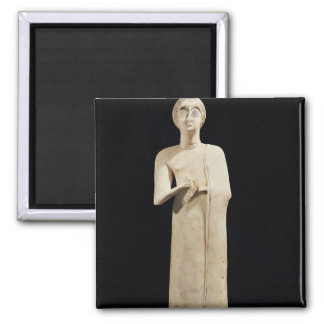 Statue of the Great Goddess, from Tell Asmar Magnet