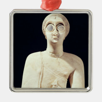 Statue of the Great Goddess, from Tell Asmar Metal Ornament