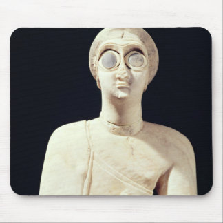 Statue of the Great Goddess, from Tell Asmar Mouse Pad
