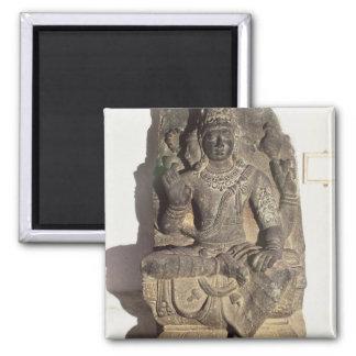Statue of the Hindu God Brahma Fridge Magnet