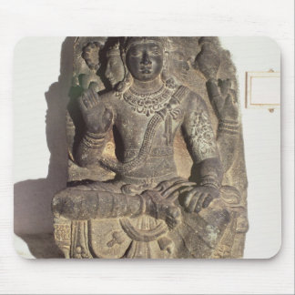 Statue of the Hindu God Brahma Mouse Pad