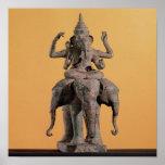 Statue of the Hindu God Ganesh Poster